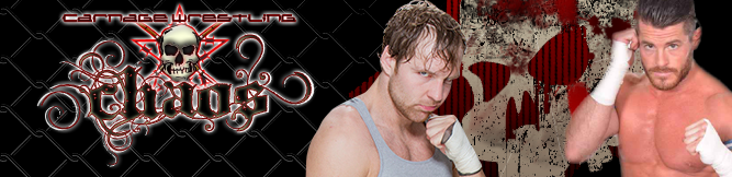 Chaos Returns to the Carnage Arena on June 14th! Wolfgang vs. Stryker in the Main Event!